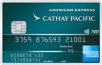American Express Cathay Pacific Credit Card
