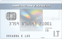 American Express I.T Cashback Card