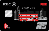 ICBC KMB UnionPay Dual Currency Diamond Card