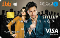 SBI FBB STYLEUP Contactless Card