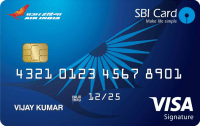 Air India SBI Signature Card