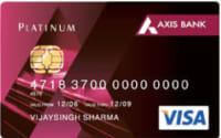 Axis Bank Insta Easy Credit Card