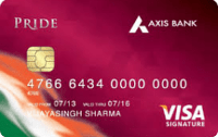 Axis Bank Pride Signature Credit Card