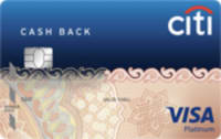 Citibank Cash Back Credit Card