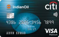Citibank IndianOil Platinum Credit Card