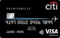 CitibankPremierMiles Credit Card