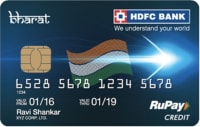 HDFC Bank Bharat Card