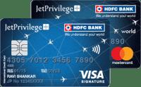 JetPrivilege HDFC Bank Signature / World Card