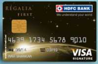 HDFC Bank Regalia First Credit Card