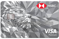 HSBC Bank Visa Platinum Card