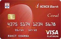 ICICI Bank HPCL Coral Visa/MasterCard Credit Card