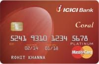 ICICI Bank NRI Coral Credit Card