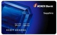 ICICI Bank Sapphiro Credit Card - AMEX