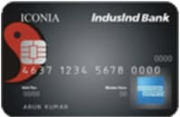 IndusInd Bank Iconia Credit Card - AMEX