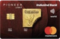 IndusInd Bank Pioneer Legacy Credit Card