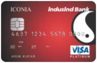 IndusInd Bank Iconia Credit Card - Visa
