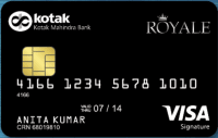 Kotak Bank NRI Royale Signature Credit Card