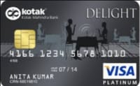 Kotak Bank  Delight Platinum Credit Card