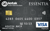 Kotak Bank Essentia Platinum Credit Card
