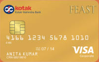 Kotak Feast Gold Credit Card