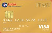 Kotak Bank  Feast Gold Credit Card