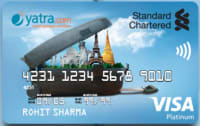 Standard Chartered Yatra Platinum Credit Card