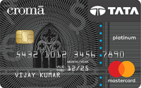Tata Croma Platinum Card