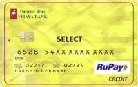 BOB Vijaya Rupay (Platinum or Select) Credit Card