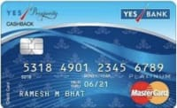 YES Prosperity Cashback Credit Card