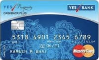 YES Prosperity Cashback Plus Credit Card