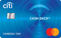Citi Cash Back+ Mastercard