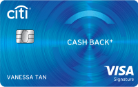 Citi Cash Back+ Card