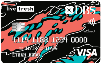 DBS Live Fresh Visa Card