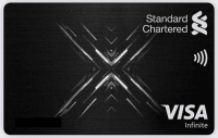 Standard Chartered Visa Infinite X Credit Card