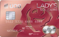 UOB Lady's Solitaire Metal Card