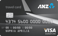 ANZ Travel Visa Signature Card