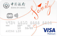 Bank of China Family Rebate Card