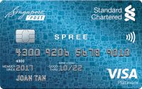 Standard Chartered SingPost Spree Credit Card