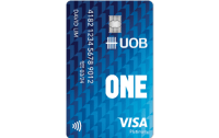 UOB One Debit Visa Card