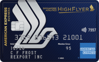 American Express Singapore Airlines Business Card