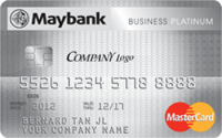 Maybank Business Platinum Mastercard
