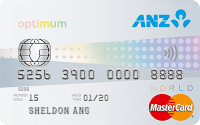 ANZ Optimum World MasterCard Credit Card