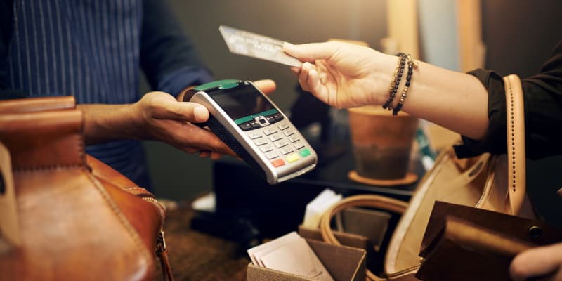 Many banks have credit cards with attractive rewards specifically for shopping.