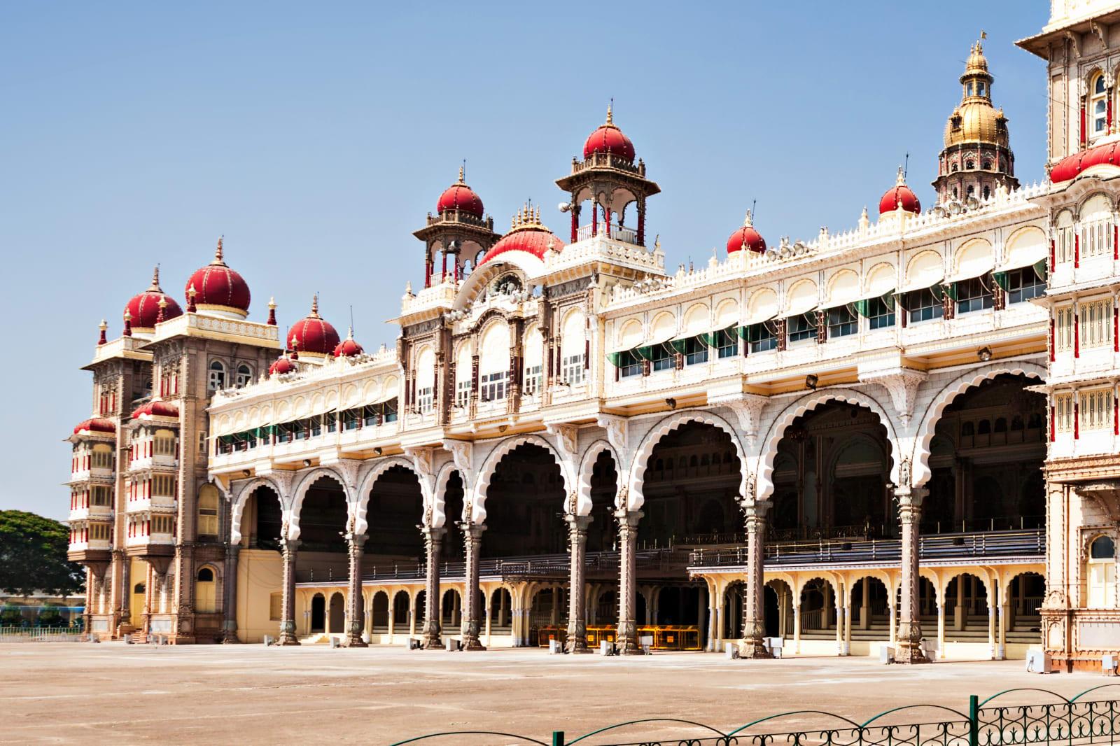 Amba Vilas Mysore Palace in Mysore, India