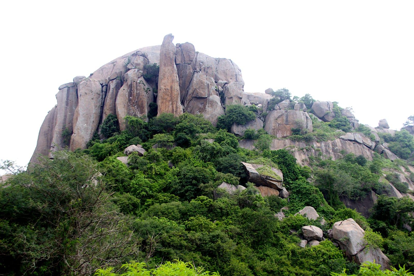 Rock Formation near Ramanagara