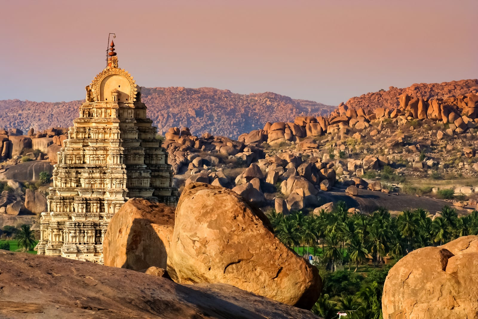 Virupaksha temple in Hampi, Karmataka