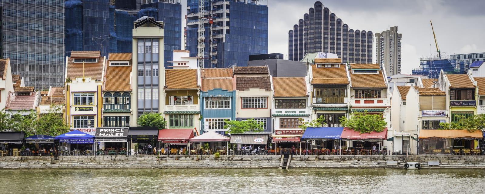 Boat Quay restaurants and bars