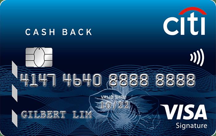 Citibank Cashback Visa Card
