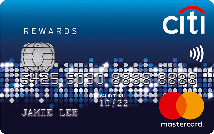 Citibank Rewards Visa Card