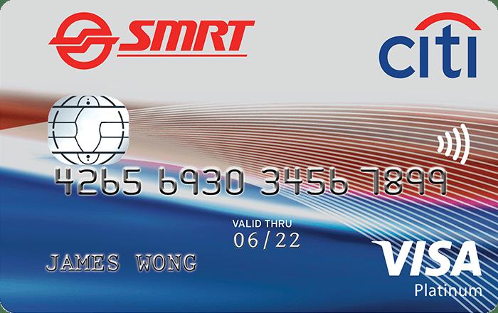 Citibank SMRT Platinum Visa Card